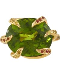 Sharon Khazzam Mixed-Gemstone Ring - Lyst