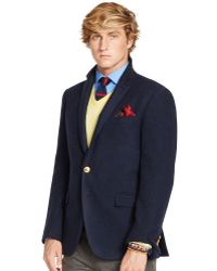Polo Ralph Lauren Bedford Navy Twill Sport Coat - Lyst