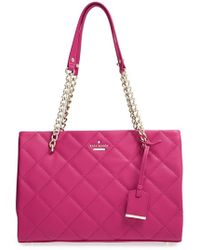 Kate Spade 'Emerson Place - Small Phoebe' Quilted Leather Shoulder Bag - Lyst