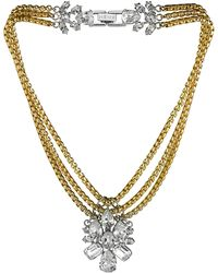 Mews London - Signature Crystal Necklace - Lyst
