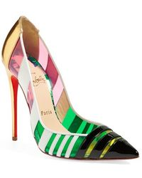 Christian Louboutin Women'S 'Bandy' Pointy Toe Pump - Lyst
