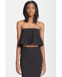 Elizabeth And James 'Addilyn' Crop Top - Lyst