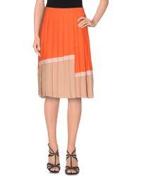Just In Case | Knee Length Skirt | Lyst