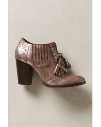 Seychelles Silver Aphorism Shooties - Lyst