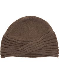 Leon Max - Knit Turban Hat - Lyst