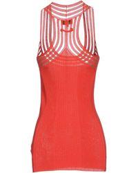 Jean Paul Gaultier Jumper red - Lyst