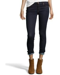 James Jeans Dark Blue Stretch Denim 'James Skinny' Jeans - Lyst