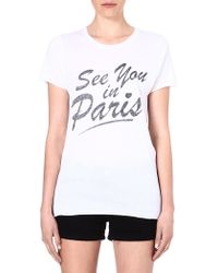 Zoe Karssen See You in Paris T-shirt - Lyst