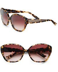Saks Fifth Avenue - Carri Cat's-eye Plastic Sunglasses - Lyst