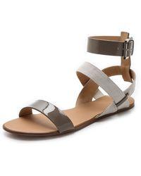 Joe's Jeans - Eryn Flat Sandals - Lyst