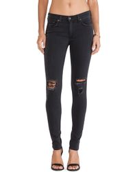 Rag & Bone Gray The Skinny - Lyst