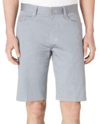 Calvin Klein Calvary Twill Ultraslimfit Shorts - Lyst
