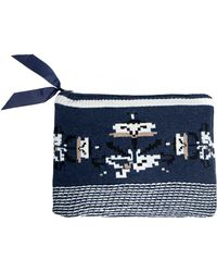 Pixie Market - Owl Knit Clutch - Lyst