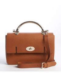 Mulberry Brown Grained Leather 'Bayswater' Crossbody Bag - Lyst