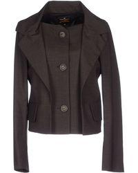 Vivienne Westwood Anglomania Blazer brown - Lyst