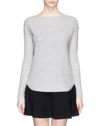 Vince Cashmere Boat Neck Sweater - Lyst