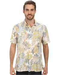 Tommy Bahama Martinique Batik S/S Button Up - Lyst