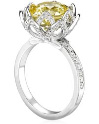 Theo Fennell - Water Lily Ring - Lyst