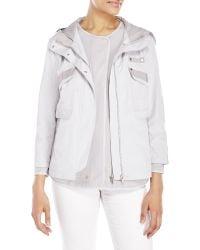 D'deMOO - Layered Hooded Tech Jacket - Lyst