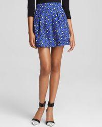 Kate Spade Cyber Cheetah Print Mini Skirt Bloomingdales Exclusive - Lyst