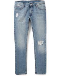 Cheap Monday Blue Four Jeans - Lyst