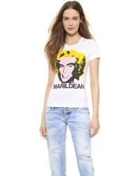 DSquared2 Marildean T-shirt - White - Lyst