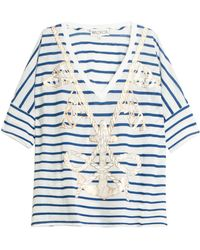 Wildfox Anchor Oversized Top - Lyst