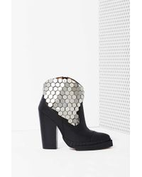 Nasty Gal Jeffrey Campbell Quigley Leather Boot - Lyst