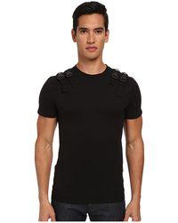 Philipp Plein Black Bridles T-Shirt - Lyst