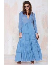 Nasty Gal Carolina K Nathalie Collared Dress - Lyst