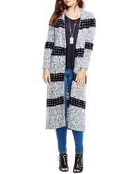 Two By Vince Camuto - Blanket Stitch Cardigan - Lyst