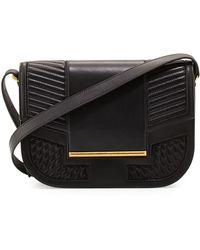 Reece Hudson - Knox Messenger Bag - Black - Lyst
