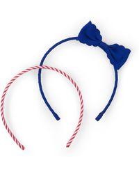 Ralph Lauren - Headband Set - Lyst