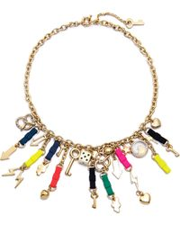 Marc By Marc Jacobs | Bow Tie Mash Up Necklace Multi | Lyst