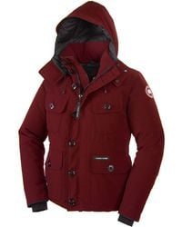 Canada Goose parka outlet authentic - Canada goose Expedition Parka Fusion Fit in Red | Lyst