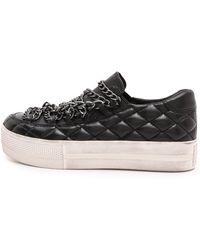 Ash Jewel Bis Slip On Sneakers  Black - Lyst