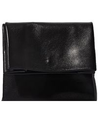 Adaism - Women's Saco De Papel Small Bag In Black Goatskin - Lyst