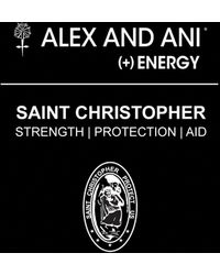 ALEX AND ANI - St. Christopher Bangle - Lyst