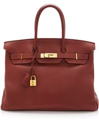 Heritage Auctions Special Collection Hermes 35cm Sienne Togo Birkin - Lyst