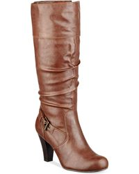 G By Guess  Randall Buckle Dress Boots - Lyst