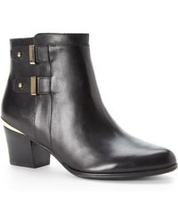 Isaac Mizrahi New York - Justice Ankle Booties - Lyst