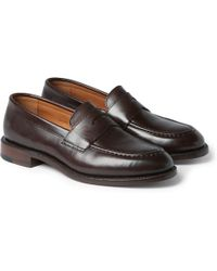 J.Crew | Ludlow Leather Penny Loafers | Lyst