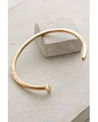 Giles & Brother Golden Spike Cuff - Lyst