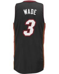 adidas Originals - Men s Dwyane Wade Miami Heat Swingman Jersey - Lyst f5fc6dfb4