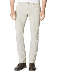 Calvin Klein Jeans Slim-fit Neutral-story Jeans - Lyst