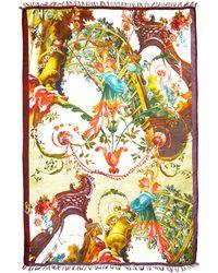 Etro Scenic Printed Wrap - Lyst