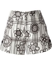 Raoul - Floral Print Shorts - Lyst