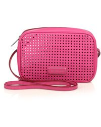 Marc By Marc Jacobs Sally Perforated Crossbody Bag - Lyst
