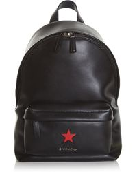 Givenchy - - Star Patch Backpack - Women - Leather - One Size - Lyst