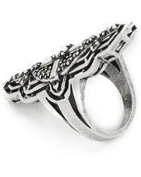 Sunahara - Alchemy Ring - Silver/white - Lyst